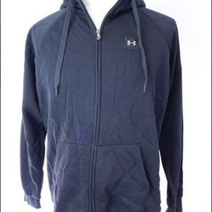 Under Armour Rival Mens Full Zip Training Hoody